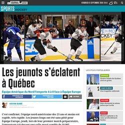 Les jeunots s'éclatent à Québec