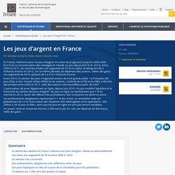Les jeux d'argent en France