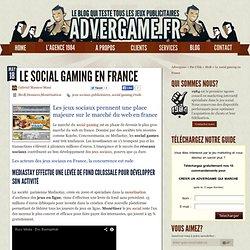 Les jeux sociaux français