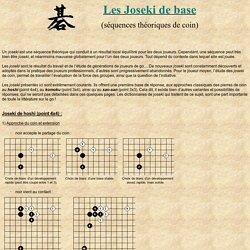 Les Joseki de base