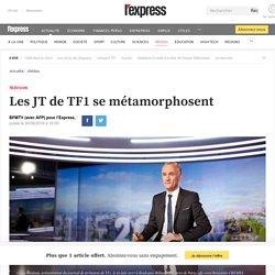 Les JT de TF1 se métamorphosent