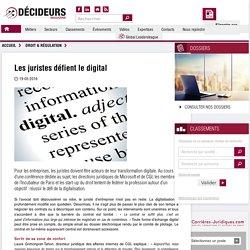 Les juristes défient le digital