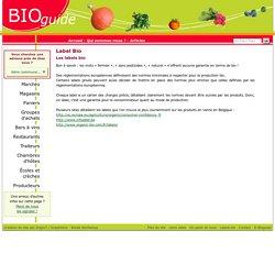 Les labels bio par Bioguide