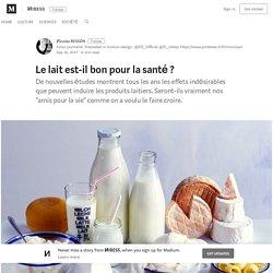 Les lait est-il bon pour la santé ? – ИIBESS