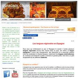 Les langues régionales en Espagne