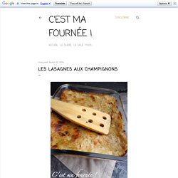 Lasagnes au velours de champignons