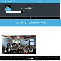 Les learning labs, ces salles de cours 3.0