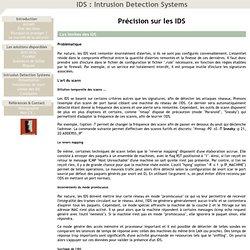 Les limites des IDS