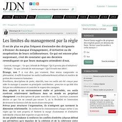 Les limites du management par la règle par Francis Boyer - Chronique Management