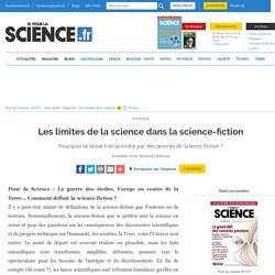 Les limites de la science dans la science-fiction