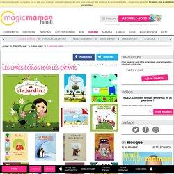 Les livres écolos pour les enfants
