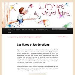 Les livres et les émotions