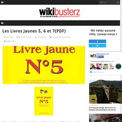 Les Livres Jaunes 5, 6 et 7(PDF)