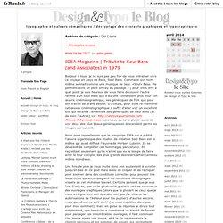 Les Logos - design et typo - Blog LeMonde.fr
