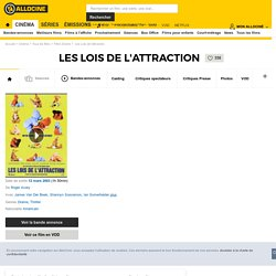 Les Lois de l'attraction - film 2002
