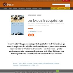 Les lois de la coopération