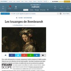 Les louanges de Rembrandt