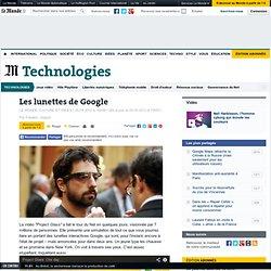 Les lunettes de Google