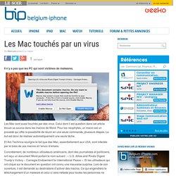 Les Mac touchés par un virus
