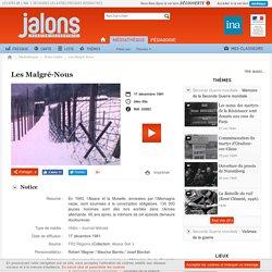 INA - Jalons - Les Malgré-Nous