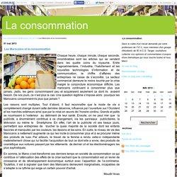 Les Marocains et la consommation - La consommation