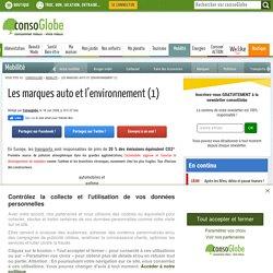 Les marques auto et l'environnement (1)