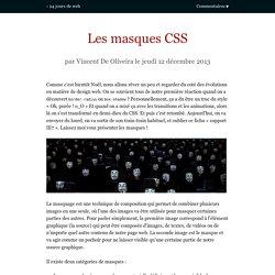 Les masques CSS