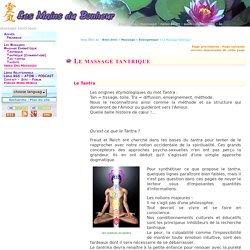 Les massages : le massagetantrique - Les Mains du Bonheur