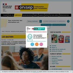 Les masters - Onisep