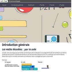 Les maths décodées… par le code