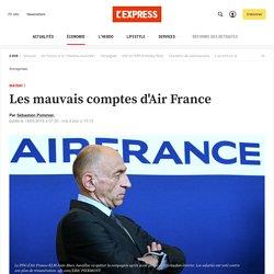Les mauvais comptes d'Air France