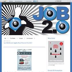 Les meilleures applis pour trouver un Job