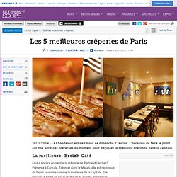 Les 5 meilleures crêperies de Paris