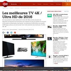 Les meilleures TV 4K / Ultra HD de 2016