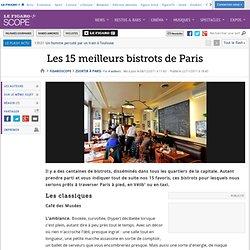 Sortir à Paris : Les 15 meilleurs bistrots de Paris