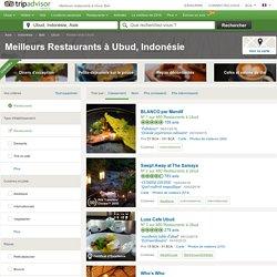 Les 10 meilleurs restaurants à Ubud