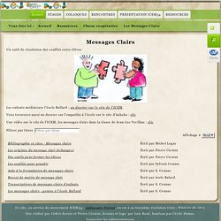 Les messages clairs -ICEM 34
