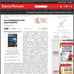 Les métaphores et la psychopathie