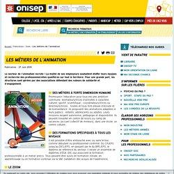 Les métiers de l'animation par l'ONISEP