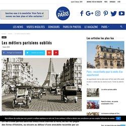 Les métiers parisiens oubliés