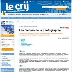 Les métiers de la photographie