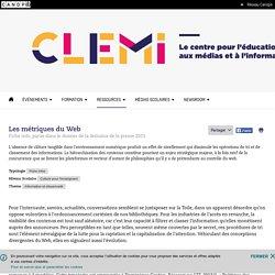 Les métriques du Web- CLEMI