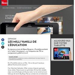 Les Milli Vanilli de l'éducation