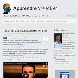 Les Mind Maps Des Lecteurs Du Blog