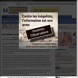 Les minima sociaux en France