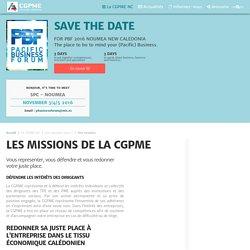 Les missions de la CGPME