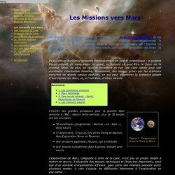 Les Missions vers Mars
