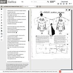 Gallica Les modes de la femme de France - Un manteau japonais