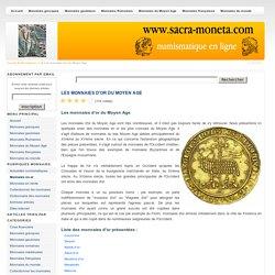 Les monnaies d'or du Moyen Age