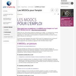 Les MOOCs pour l'emploi